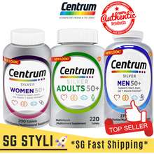 Centrum 💯 Silver 50+ Women/Men/Adults 100/200 Tabs Multivitamins *2-3 Days Delivery*