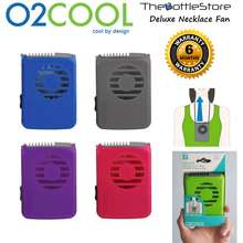 O2COOL ⭐®⭐ Deluxe Necklace Fans & Misting Fans