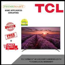 """TCL 55P8M 55""""4K Uhd Dvbt2 Android Led Tv * 3 Years Local Warranty"""