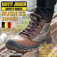 Safety Jogger Sg Seller Safety Shoes Rush S3 Ready Stock Sent Out 1 To 2 Days.