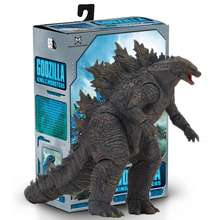 NECA Godzilla Monster King 2019 Movie Edition Boxed 7 Inch Movable Hand Model Toy
