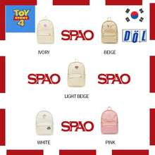 SPAO 🎈[ X Toy Story4] Korea Toystory4 Candy Backpack Bag Women Men Unisex Casual Backpack Kids School Backpack