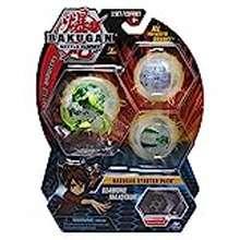 bakugan Bakugan Starter Pack 3-Pack, Diamond Maxotaur, Collectible Transforming Creatures, For Ages 6 And Up