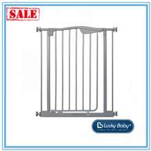 Lucky Baby Smart System Extra-Tall 2 Ways Swing Back Gate