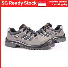 King Power KPR M017G Low Cut Safety Shoes   low cut lace up   Ready Stock in Singapore