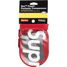 Supreme Sealline See Pouch Large Red