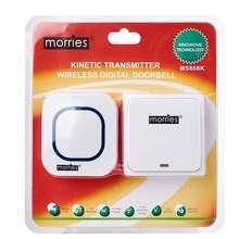 MORRIES Ms608K Kinetic Wireless Digital Doorbell
