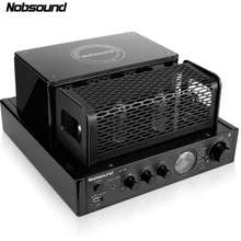 Nobsound New MS-30D hifi bluetooth tube Amplifier 25W+25W 220V Support Usb Power amplifier MS-10D MKII upgrade