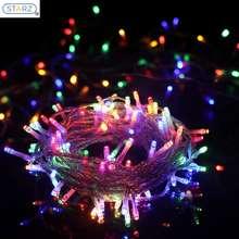 Starzdeals [ ] 10 Meters 100 Led Splash Proof Decorative Led Fairy String Lights - Multi Color