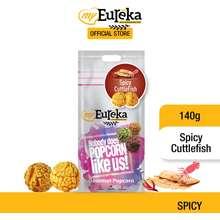 Eureka Spicy Cuttlefish Popcorn Aluminium Pack 140G