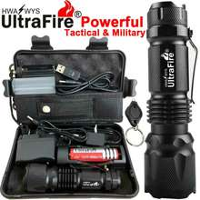 Ultrafire Original Powerful Zoom 90000LM X800 Tactical Military T6 LED Flashlight Torch Work Light
