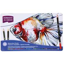 Derwent Academy Watercolour Pencils 36 Tin