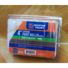 """Nippon Paint Paint Roller Refill 4"""" 10Pc/Box"""