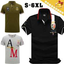 Golden Egg Plus size Aero T-shirts for man Tops Comfortable n Casual Sports Polo shirt Short sleeve