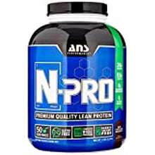 ans Ans Performance N-Pro, Premium Quality Banned Substance Free Lean Protein, Milk Chocolate Decadence, 4 Pound/ 52 Servings