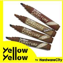 Artline Furniture Paint Marker Wood Colors