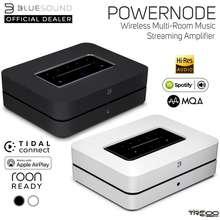 Bluesound Powernode (2021 Ver) Multi-Room Wireless Bluetooth/Wifi/Ethernet Network Streamer & Hi-Fi Integrated Amplifier