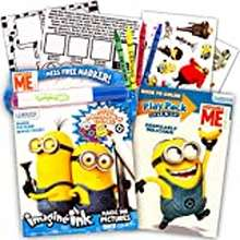 Despicable Me Despicable Me Minions Magic Ink Coloring Book And Play Set (Imagine Ink Book, Mess Free Marker And Play Pack)