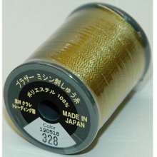 Brother Col. 328 Embroidery Threads - Brass