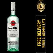 Bacardi Superior White Rum (Carta Blanca) 700ml