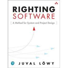 Pearson Righting Software By Juval Loewy (Us Edition, Paperback)