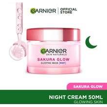 Garnier Sakura White Radiance Night Cream