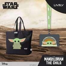 Disney Star Wars Baby Grogu™ Bundle From The Mandalorian (Tote + Lanyard)