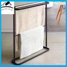 ER Bathroom Hang Shelf Towel Storage Punch Free Towel Rack Nordic Floor Towel Rack Drain Rack Outdoor Sheets Hang
