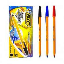 BIC Box Of 12 Classic Ballpoint Pen 0.7Mm [Black/Red/Blue] Pack Of 6 Or Box Of 12