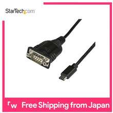 Startech .com USB-C to Serial(RS232C) Conversion Adapter Cable USB 2.0/1.1 compliant USB Type-C(male) to D-Sub 9 pin(male) ICUSB232C