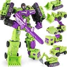 Transformers Dx9 War In Pocket Warrior Hulkie 6 Figures Box Set Not Devastator