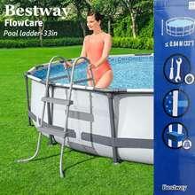 Bestway Flowcare Pool Ladder-33In/84Cm*Swimming Pool Ladder