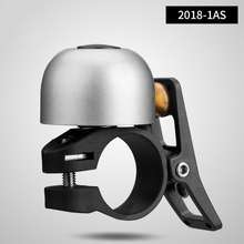 RockBros Bike Bell Classical Stainless Bicycle Bell Cycling Horn Bike Handlebar Bell Horn Crisp Loud Sound Bike Horn Safety Bike Accessories