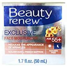 Beauty Beauty Renew 55+ Exclusive Day & Night Cream Golden Dust And French Saffron 1.7 Fl. Oz.
