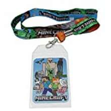 Minecraft Minecraft Characters Double Sided Lanyard With Id Holder New Licensed