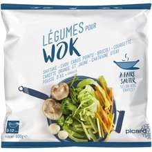 PICARD Asian Vegetable Mix for Wok - Frozen