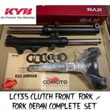KYB Yamaha Lc135 V2/V3/V4/V5 55C Clutch Front Fork T-Fork Steering Cone Set 100% Original