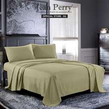 Jean Perry Jean Perry Colorie Combed Cotton Sateen Quilt Cover With Pillowcase (Home'S Harmony Sg Seller)