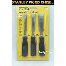 STANLEY 3 PIECE WOOD CHISEL SET