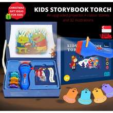 MiDeer (Ships Out Within 24hrs) Kids Story Flashlight Toys Educational Toy Handed Projector