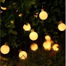 Lumi 100 Led Warm White Globe Christmas Light, 10M (With 8-Pattern Function)