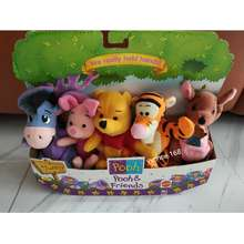 Disney (Instock) Pooh & Friends (Eeyore Piglet Tigger Kanga) Plush