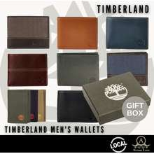 Timberland *Sg* Mens Leather Wallet With Gift Box *100% Authentic*
