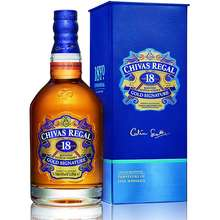 Chivas Regal (Cheaper than 700ml by per ml) REGAL 18 YEARS OLD 750ML ALC 40%