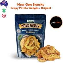 DJ&A Australian Crispy Potato Wedges l 100g - - Australian Ready to Eat Snacks