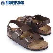 Birkenstock Classic Unisex Milano Brown Birko-Flor®