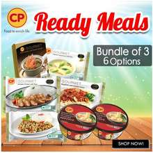 CP Food CP Bundle of 3 Thai Ready Meals 6 Choices Available Halal Frozen