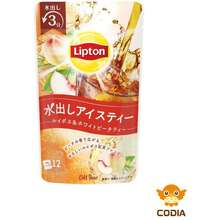 Lipton Cold Brew Rooibos And White Peach Tea - 12 Bags (Japan Limited) (Made In Japan) (Direct From Japan)