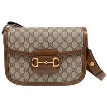 Gucci 1955 Horsebit Shoulder Bag Brown