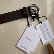 Paul Smith Brand New Men Brown Leather Belt Size 32